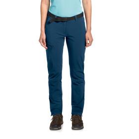 Maier Sports Inara Slim broek Dames blauw